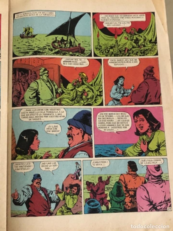 Tebeos: Joyas literarias Juveniles serie roja N 16, El corsario de hierro-La tumba flotante - Foto 3 - 233110620