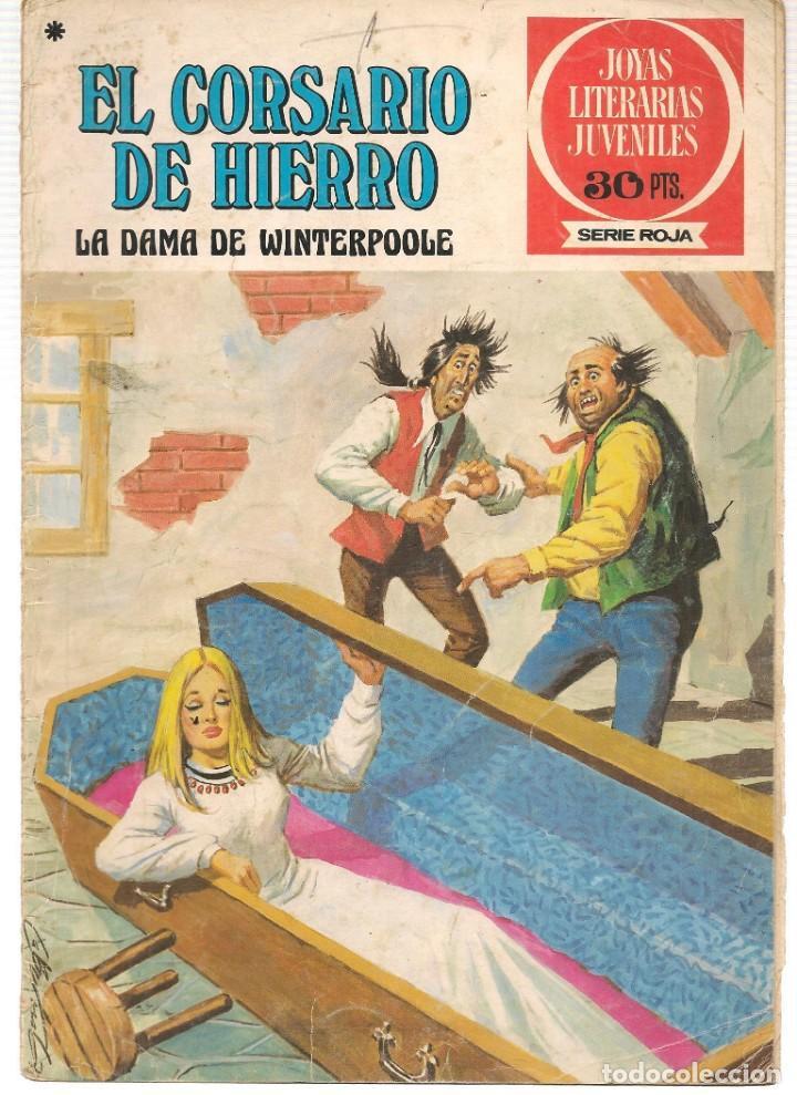 JOYAS LITERARIAS JUVENILES. SERIE ROJA. Nº 43. EL CORSARIO DE HIERRO. (BRUGUERA)C/A15. (Tebeos y Comics - Bruguera - Corsario de Hierro)