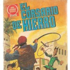 Tebeos: JOYAS LITERARIAS JUVENILES. SERIE ROJA. Nº 58. EL CORSARIO DE HIERRO. (BRUGUERA)C/A15.. Lote 233258745