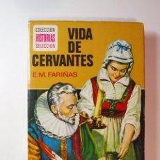 Tebeos: VIDA DE CERVANTES - E. M. FARIÑAS - HISTORIAS SELECCIÓN -SERIE HISTORIA Y BIOGRAFÍA Nº 16 - BRUGUERA. Lote 233560270