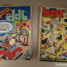 BDs: LOTE 15 TEBEOS DDT EXTRA Y SUPER. Lote 233599550