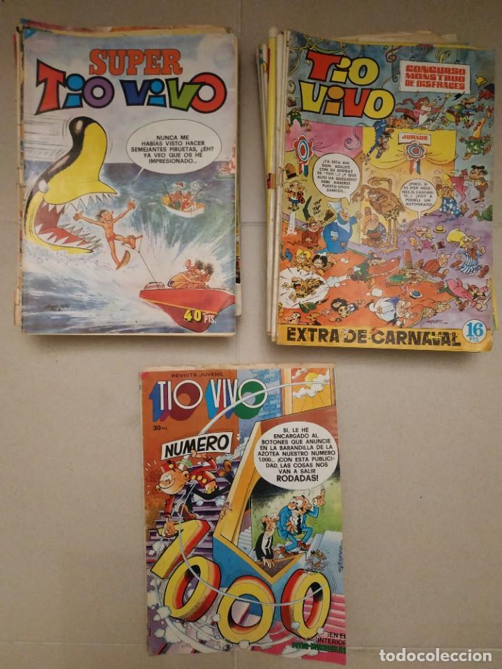 LOTE 28 TEBEOS TIO VIVO SUPER Y EXTRA (Tebeos y Comics - Bruguera - Tio Vivo)