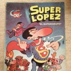 Tebeos: SUPERLOPEZ Nº 2: EL SUPERGRUPO (2A EDICIÓN). Lote 233681085