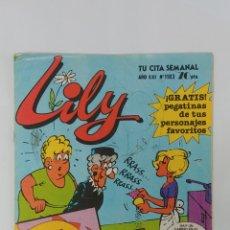 Tebeos: LILY . NÚMERO 1183 EDITORIAL BRUGUERA. Lote 233866580