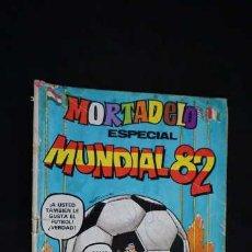 Tebeos: MORTADELO ESPECIAL, NUMERO 134, MUNDIAL 82, AÑO 1982, EDITORIAL BRUGUERA, CONTIENE POSTER Y 4 FICHAS. Lote 233958420