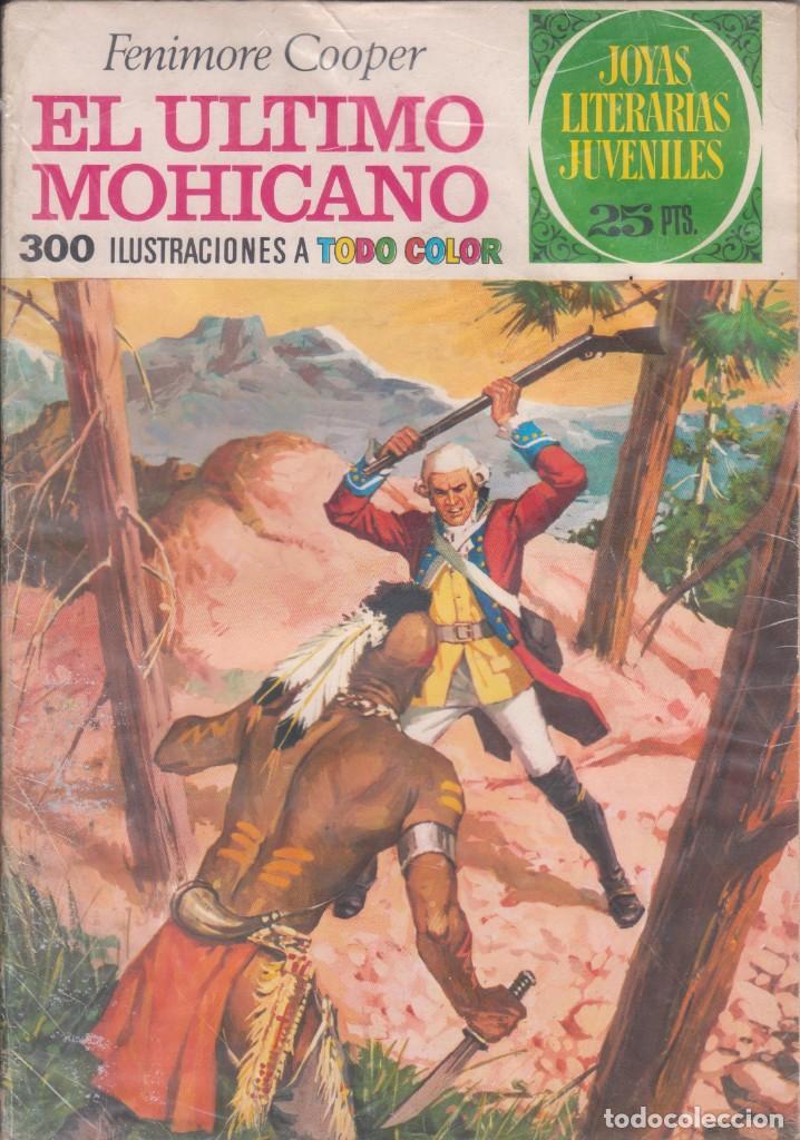 """COMIC JOYAS LITERARIAS JUVENILES Nº 12 """" EL ÚLTIMO MOHICANO """" ED.BRUGUERA 3ª ED.1975 DE 25 PTS. (Tebeos y Comics - Bruguera - Joyas Literarias)"""
