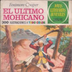 "Tebeos: COMIC JOYAS LITERARIAS JUVENILES Nº 12 "" EL ÚLTIMO MOHICANO "" ED.BRUGUERA 3ª ED.1975 DE 25 PTS.. Lote 234035495"