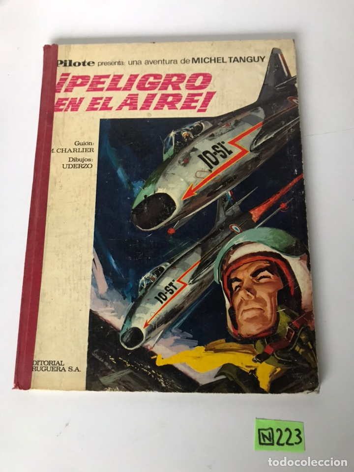 PELIGRO EN EL AIRE - EDITORIAL RUGUERA (Tebeos y Comics - Bruguera - Otros)