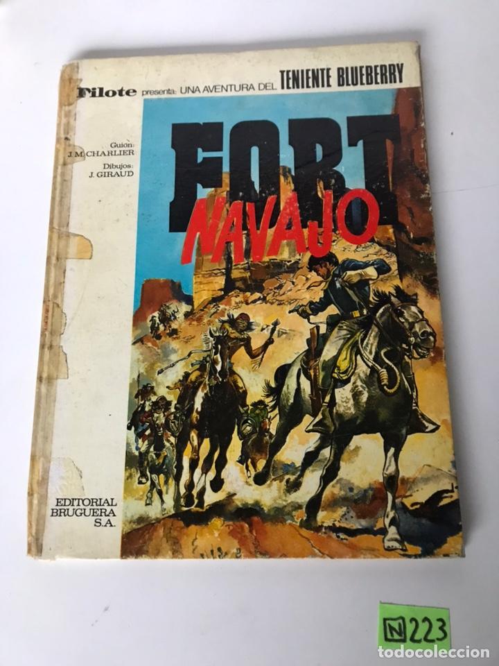 FORD NAVAJO - EDITORIAL BRUGUERA (Tebeos y Comics - Bruguera - Otros)
