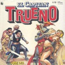 Tebeos: CAPITÁN TRUENO Nº10. EDITORIAL BRUGUERA, 1986. LUIS BERMEJO, JESÚS REDONDO, JOSÉ ORTIZ.... Lote 234390205