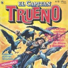 Tebeos: CAPITÁN TRUENO Nº12. EDITORIAL BRUGUERA, 1986. LUIS BERMEJO, FERNANDO FERNÁNDEZ, JESÚS BLASCO,.... Lote 234390895