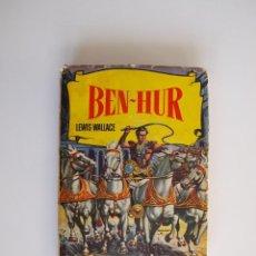 Tebeos: BEN-HUR - LEWIS WALLACE - COLECCIÓN HISTORIAS Nº 9 - BRUGUERA 3ª ED. 1960. Lote 234741390