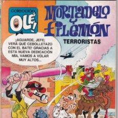 Tebeos: MORTADELO Y FILEMÓN - TERRORISTAS - COLECCIÓN OLÉ - 1º EDI.- Nº 354 - M.149 - JULIO 1989. Lote 234749910