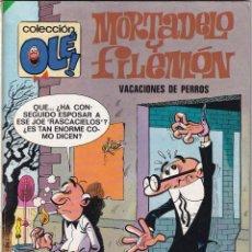 Tebeos: MORTADELO Y FILEMON VACACIONES DE PERROS N120- COLECCIÓN OLÉ - 4ª EDICIÓN 1983. Lote 234750145