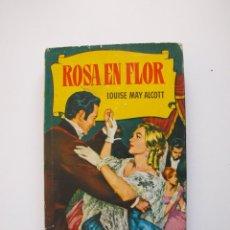 Tebeos: ROSA EN FLOR - LOUISE MAY ALCOTT - COLECCIÓN HISTORIAS Nº 119 - BRUGUERA 2ª ED. 1964. Lote 234756425