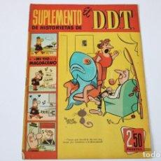 Tebeos: SUPLEMENTO DE HISTORIETAS DEL DDT Nº 22. Lote 234889145