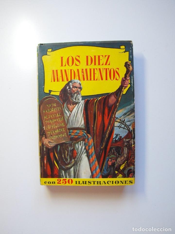 LOS DIEZ MANDAMIENTOS - COLECCIÓN HISTORIAS Nº 115 - BRUGUERA 1ª ED. 1960 (Tebeos y Comics - Bruguera - Historias Selección)