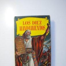 Tebeos: LOS DIEZ MANDAMIENTOS - COLECCIÓN HISTORIAS Nº 115 - BRUGUERA 1ª ED. 1960. Lote 234912260