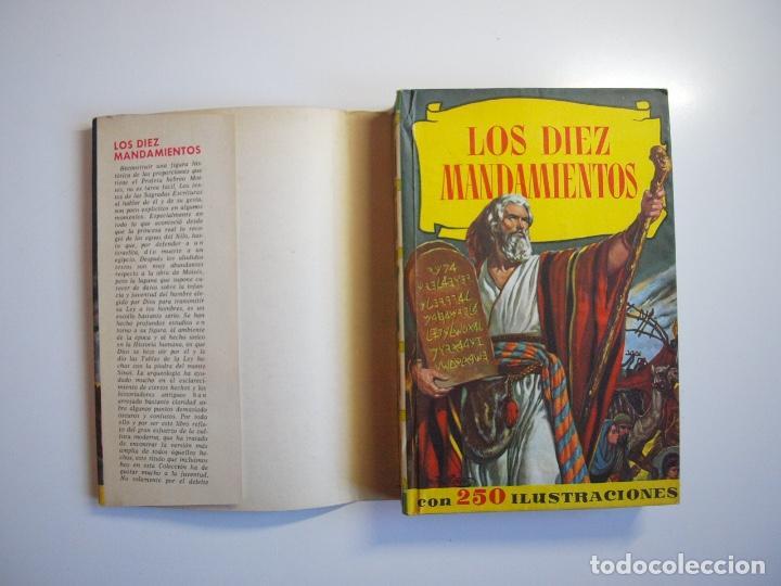 Tebeos: LOS DIEZ MANDAMIENTOS - COLECCIÓN HISTORIAS Nº 115 - BRUGUERA 1ª ED. 1960 - Foto 2 - 234912260