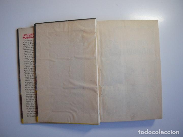 Tebeos: LOS DIEZ MANDAMIENTOS - COLECCIÓN HISTORIAS Nº 115 - BRUGUERA 1ª ED. 1960 - Foto 3 - 234912260