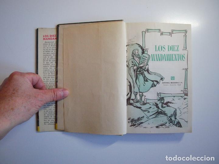 Tebeos: LOS DIEZ MANDAMIENTOS - COLECCIÓN HISTORIAS Nº 115 - BRUGUERA 1ª ED. 1960 - Foto 4 - 234912260