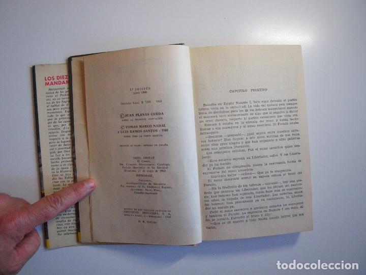 Tebeos: LOS DIEZ MANDAMIENTOS - COLECCIÓN HISTORIAS Nº 115 - BRUGUERA 1ª ED. 1960 - Foto 5 - 234912260