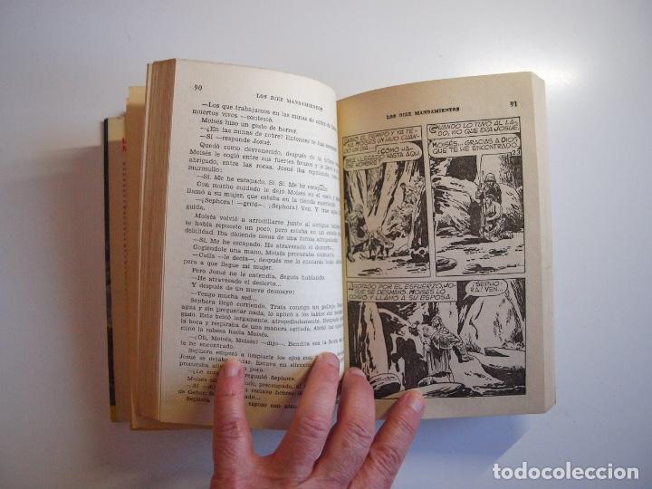 Tebeos: LOS DIEZ MANDAMIENTOS - COLECCIÓN HISTORIAS Nº 115 - BRUGUERA 1ª ED. 1960 - Foto 7 - 234912260