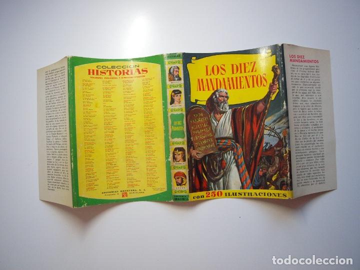 Tebeos: LOS DIEZ MANDAMIENTOS - COLECCIÓN HISTORIAS Nº 115 - BRUGUERA 1ª ED. 1960 - Foto 12 - 234912260