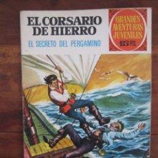 Tebeos: EL CORSARIO DE HIERRO Nº 15. GRANDES AVENTURAS JUVENILES. BRUGUERA 1ª EDICION 1972. Lote 234950310