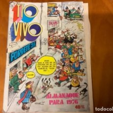 Tebeos: REVISTA TIO VIVO ALMANAQUE PARA 1976. Lote 234998375