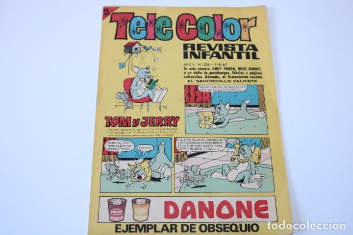 TELE COLOR Nº 231 (Tebeos y Comics - Bruguera - Tele Color)
