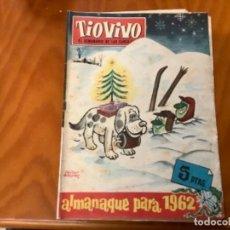 Livros de Banda Desenhada: TIO VIVO ALMANAQUE 1962. Lote 235062555