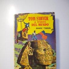 Tebeos: TOM SAWYER A TRAVÉS DEL MUNDO - MARK TWAIN - COLECCIÓN HISTORIAS Nº 133 - BRUGUERA 1ª ED. 1961. Lote 235141450