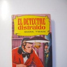 Tebeos: EL DETECTIVE DISTRAIDO - MARK TWAIN - COLECCIÓN HISTORIAS Nº 185 - BRUGUERA 1ª ED. 1964. Lote 235143680