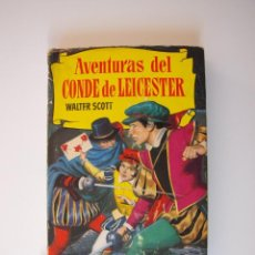 Tebeos: AVENTURAS DEL CONDE DE LEICESTER - WALTER SCOTT - COLECCIÓN HISTORIAS Nº 86 - BRUGUERA 2ª ED. 1964. Lote 235150475