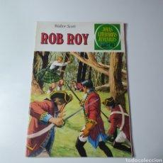 Tebeos: JOYAS LITERARIAS JUVENILES, ROB ROY, WALTER SCOTT.. Lote 235186130
