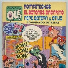 Tebeos: COLECCIÓN OLÉ! - ROMPETECHOS, SACARINO, PEPE GOTERA Y OTILIO - BRUGUERA - Nº 109 - 1ª EDICIÓN - 1975. Lote 279507728