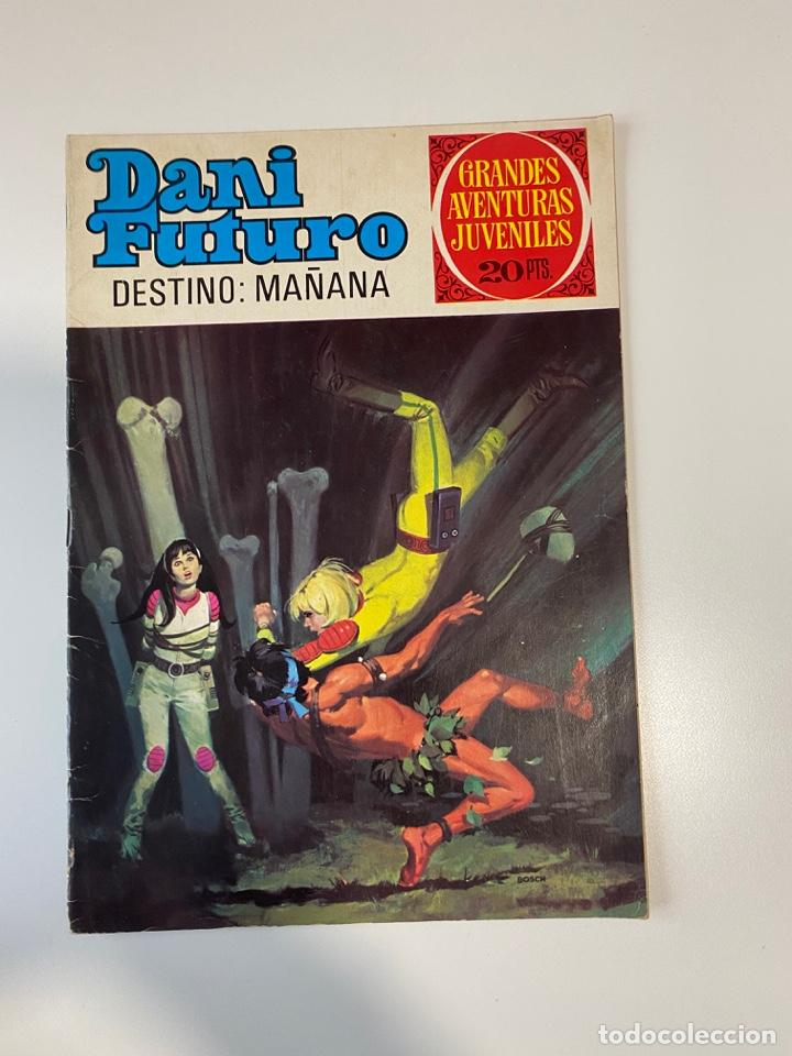 DESTINO: MAÑANA. DANI FUTURO. Nº 61. GRANDES AVENTURAS JUVENILES. EDITORIAL BRUGUERA. 1975 (Tebeos y Comics - Bruguera - Joyas Literarias)