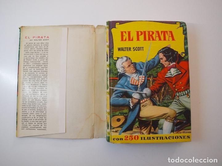 Tebeos: EL PIRATA - WALTER SCOTT - COLECCIÓN HISTORIAS Nº 74 - BRUGUERA 1ª ED. 1958 - Foto 2 - 235324910