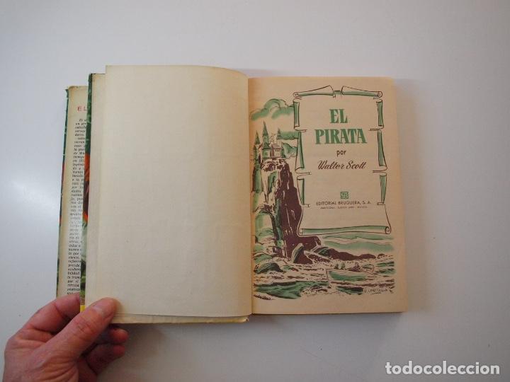 Tebeos: EL PIRATA - WALTER SCOTT - COLECCIÓN HISTORIAS Nº 74 - BRUGUERA 1ª ED. 1958 - Foto 4 - 235324910