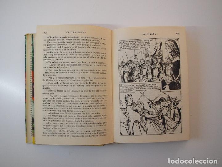 Tebeos: EL PIRATA - WALTER SCOTT - COLECCIÓN HISTORIAS Nº 74 - BRUGUERA 1ª ED. 1958 - Foto 6 - 235324910