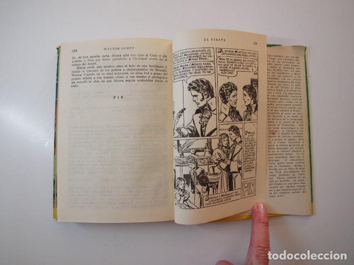 Tebeos: EL PIRATA - WALTER SCOTT - COLECCIÓN HISTORIAS Nº 74 - BRUGUERA 1ª ED. 1958 - Foto 7 - 235324910