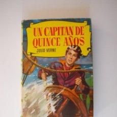 Tebeos: UN CAPITÁN DE QUINCE AÑOS - JULIO VERNE - COLECCIÓN HISTORIAS Nº 36 - BRUGUERA 6ª ED. 1966. Lote 235326455