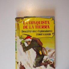 Tebeos: LA CONQUISTA DE LA TIERRA - STEWART H. GLEASON - COLECCIÓN HISTORIAS Nº 59 - BRUGUERA 2ª ED. 1960. Lote 235347020