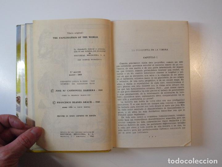 Tebeos: LA CONQUISTA DE LA TIERRA - STEWART H. GLEASON - COLECCIÓN HISTORIAS Nº 59 - BRUGUERA 2ª ED. 1960 - Foto 5 - 235347020