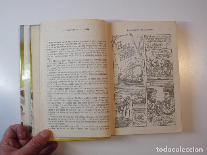 Tebeos: LA CONQUISTA DE LA TIERRA - STEWART H. GLEASON - COLECCIÓN HISTORIAS Nº 59 - BRUGUERA 2ª ED. 1960 - Foto 6 - 235347020