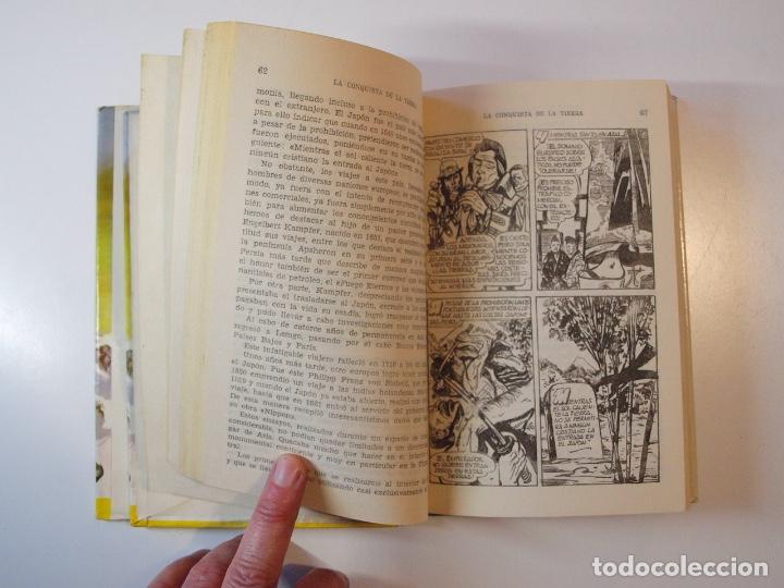 Tebeos: LA CONQUISTA DE LA TIERRA - STEWART H. GLEASON - COLECCIÓN HISTORIAS Nº 59 - BRUGUERA 2ª ED. 1960 - Foto 7 - 235347020