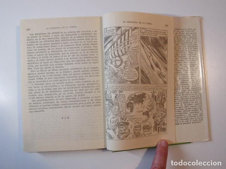 Tebeos: LA CONQUISTA DE LA TIERRA - STEWART H. GLEASON - COLECCIÓN HISTORIAS Nº 59 - BRUGUERA 2ª ED. 1960 - Foto 8 - 235347020