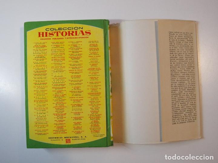 Tebeos: LA CONQUISTA DE LA TIERRA - STEWART H. GLEASON - COLECCIÓN HISTORIAS Nº 59 - BRUGUERA 2ª ED. 1960 - Foto 10 - 235347020
