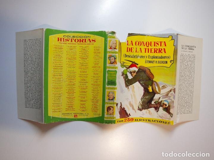 Tebeos: LA CONQUISTA DE LA TIERRA - STEWART H. GLEASON - COLECCIÓN HISTORIAS Nº 59 - BRUGUERA 2ª ED. 1960 - Foto 15 - 235347020